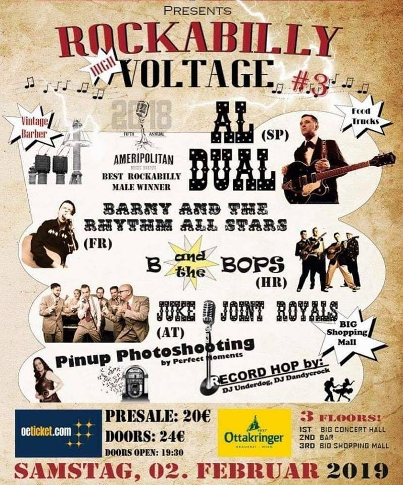 Al Dual Rockabilly Voltage 2019