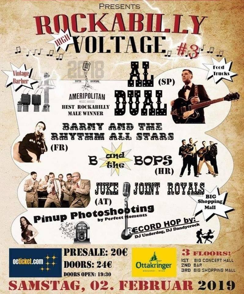 Al Dual Rockabilly Voltage 2019